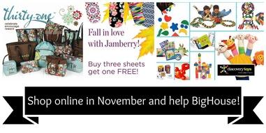 November Shopping Banner